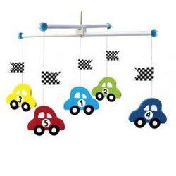 Drewniane mobile samochody