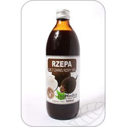 Czarna Rzepa Sok 100% - - 500 ml (but.szkl.)