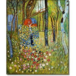 Ogród farmera z krzyżem - Gustav Klimt