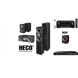 DENON AVR-X2300 + DN-500BD + HECO VICTA 502 + SUB252 - Kino domowe - Autoryzowany sprzedawca