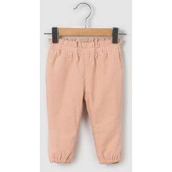 Spodnie welurowe 0 miesięcy-2 lata