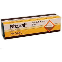 Nizoral, 2% (20 mg/g), krem, 30 g
