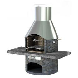 Grill betonowy Rondo wersja 2