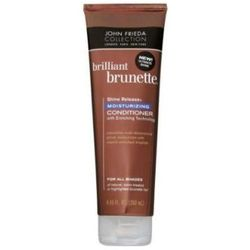 JOHN FRIEDA Brilliant Brunette Moisturizing Conditioner For All Brunette Shades odzywka nawilzajaca do brazowych wlosow 250ml