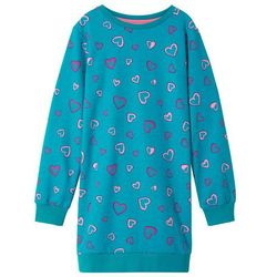 5f81a80fdf suknie sukienki dresowa sukienka bombka szara w kategorii Dla dzieci ...