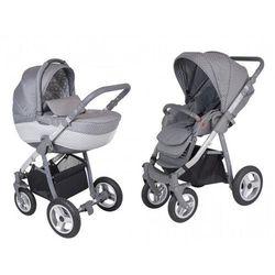 Amelis Pro, wielofunkcyjny wózek dziecięcy, szare kropki, G-SR/air Darmowa dostawa do sklepów SMYK