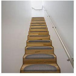 Dywaniki na schody 64,5 x 25,5 cm Mokka x15 Zapisz się do naszego Newslettera i odbierz voucher 20 PLN na zakupy w VidaXL!