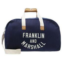 Franklin & Marshall Torba weekendowa dark blue solid