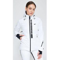 Kurtka narciarska damska KUDN161 biały