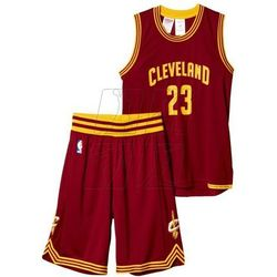Komplet koszykarski adidas Cleveland Cavaliers Replica Junior AC4573