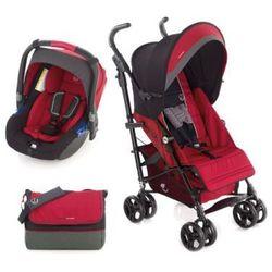 JANE Wózek spacerowy Nanuq XL z fotelikiem samochodowym Koos Scarlet