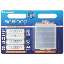 4 x akumulatorki Panasonic Eneloop R6 AA 2000mAh BK-3MCCEC4BE (blister + box)
