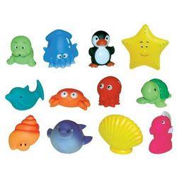 Ludi Zabawki Do Kąpieli 12 Zwierzątek