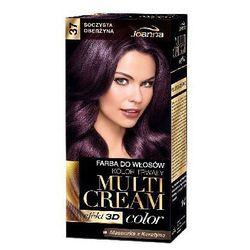 Farba do włosów Joanna Multi Cream Color soczysta oberżyna 37