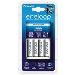 Ładowarka Panasonic Eneloop BQ-CC18 + 4 x R6/AA Eneloop 2000mAh - darmowy odbiór osobisty!