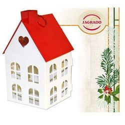 Latarenka - świecznik domek