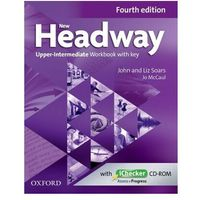 New Headway Upper Intermediate Workbook with Key (4th)