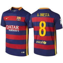 Koszulka Nike FC Barcelona Home junior A Iniesta