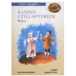 KANDYD CZYLI OPTYMIZM CD MTJ 978-83-89336-48-4 + zakładka do książki GRATIS