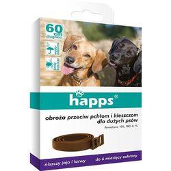 BROS HAPPS 60cm obroża dla dużych psów na pchły i kleszcze