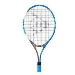 Rakieta do tenisa Dunlop Play 27 - grip č.3 Szara/Biała/Niebieska