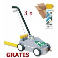PROMOCJA! 36x Farba AMPERE TRAFFIC + wózek do znakowania AMPERE Perfect Striper GRATIS