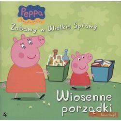 WIOSENNE PORZĄDKI ŚWINKA PEPPEA ZABAWY W WIELKIE SPRAWY 4 (opr. broszurowa)
