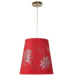 Lampa Wisząca CANDELLUX Vena 31-14972 Czerwony + Linka 85-10608 + DARMOWY TRANSPORT!