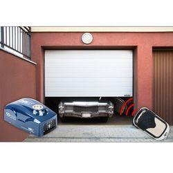 Segmentowa brama garażowa MSW GD3000 z napędem