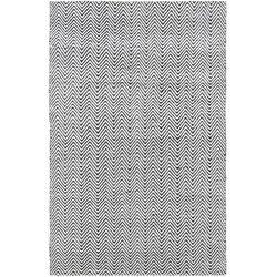 Dywan Ives Black White 100x150