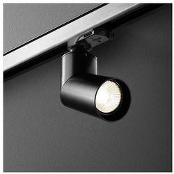 Reflektorowa LAMPA sufitowa ROTTO TRACK 16219-02 Aquaform metalowa OPRAWA do systemu szynowego 3-fazowego czarny