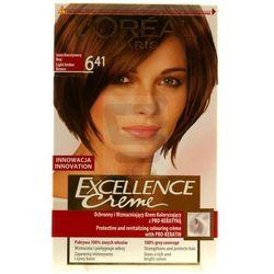 Loreal Paris Excellence Creme Farba do włosów Jasny Bursztynowy Brąz nr 6.41