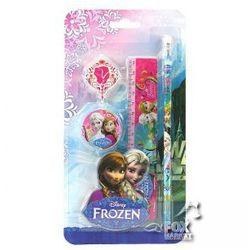 Zestaw przyborów KRAINA LODU Frozen 4 elementy