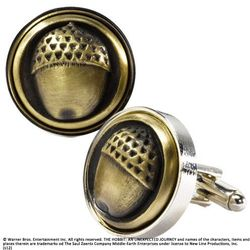 The Hobbit An Unexpected Journey Bilbo Baggins Button Cufflinks (NOB1490)