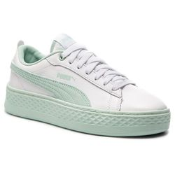 Sneakersy PUMA Smash Platform L 366487 07 Puma WhiteFair Aqua