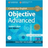 Objective Advanced Student's Book Pack (Student's Book with Answers with CD-ROM and Class Audio CDs (2)) (opr. miękka)