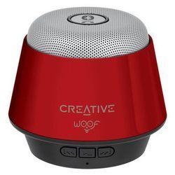 Creative Woof czerwony z mikrofonem