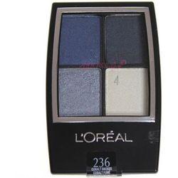 L'OREAL cienie quad Studio Secrets Color Smokes Eye Shadow 236 Cobalt Smokes