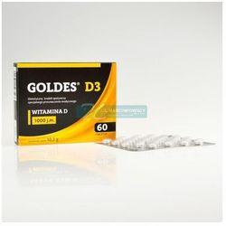 Goldes D3 1000 j.m. 60 tabletek