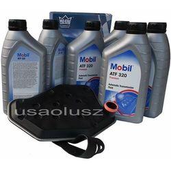Filtr oraz olej skrzyni biegów Mobil ATF320 Mercury Mountaineer -2001