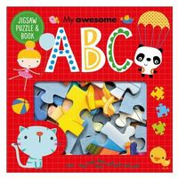 My Awesome ABC Jigsaw and Book Set
