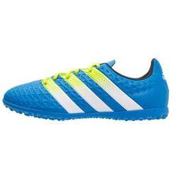 adidas Performance ACE 16.3 TF Korki Turfy shock blue/semi solar slime/white