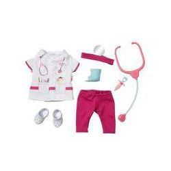 Ubranko dla lalek lekarka Baby born Deluxe Doctor Set