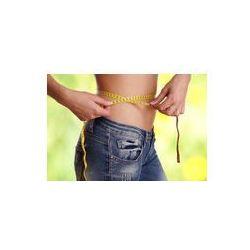 Foto naklejka samoprzylepna 100 x 100 cm - Talii mierzony dieta odchudzająca