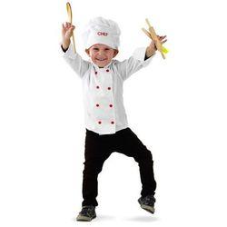 Kucharz - przebranie karnawałowe dla chłopca - rozmiar L