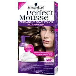 SCHWARZKOPF Perfect Mousse 500 Średni brąz Farba do włosów