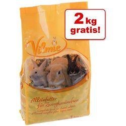 5 kg + 2 kg karmy Vilmie dla małych zwierząt - 7 kg karmy dla królika miniaturowego