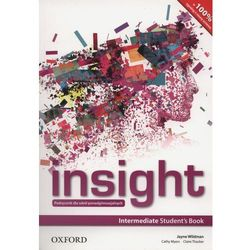 Insight Intermediate Students Book (Ministry Approved) (Poland) (opr. miękka)