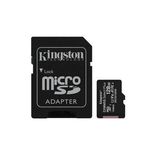 KINGSTON MicroSDXC 128GB 100MB/s SDCS2/128GB