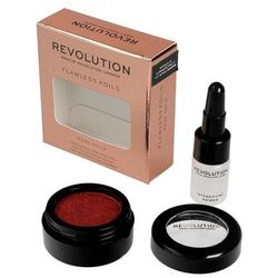 Makeup Revolution Flawless Foils Cień do powiek metaliczny+baza Rose Gold 1op.